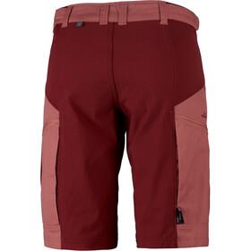 Lundhags Makke Pantalones cortos Mujer, crystal/dark red